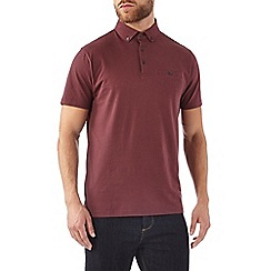 Burton - Burgundy polo shirt