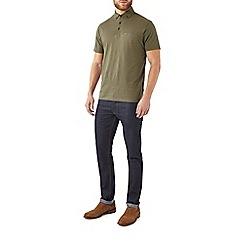 Burton - Khaki polo shirt