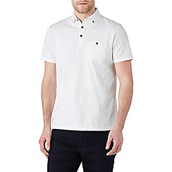 Burton - White polo shirt