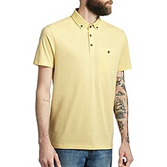Burton - Yellow smart polo shirt