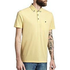 Burton - Yellow smart polo shirt