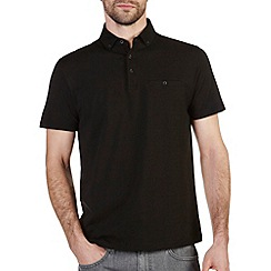 Burton - Black casual polo shirt