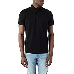 Burton - 2 pack black and white polo shirt
