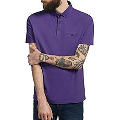 Burton - Purple smart polo shirt
