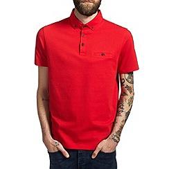 Burton - Red smart polo shirt
