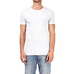Burton - Ecru marl muscle fit t-shirt