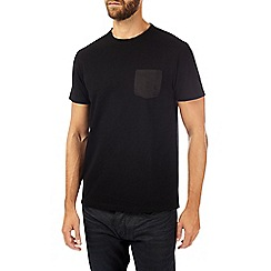 Burton - Black pique t-shirt