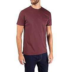Burton - Maroon pique t-shirt