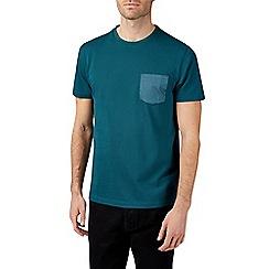 Burton - Teal pique t-shirt