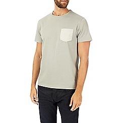 Burton - Grey pique t-shirt
