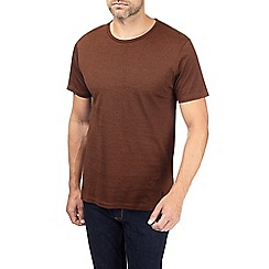 Burton - Montague burton rust feeder stripe t-shirt