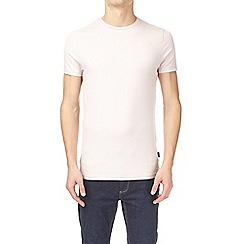 Burton - Fresh cream muscle fit crew neck t-shirt