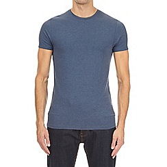 Burton - Denim marl muscle fit t-shirt