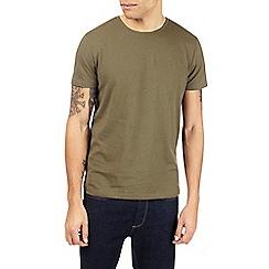 Burton - 3 pack black, grey and khaki basic t-shirts
