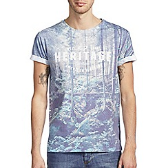 Burton - Heritage wood printed t-shirt