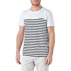 Burton - White breton stripe t-shirt
