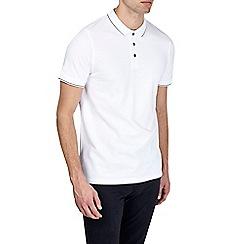 Burton - White polo shirt