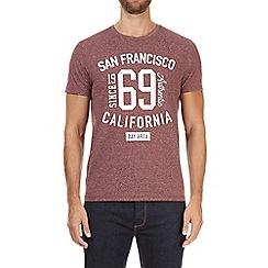 Burton - Pink San Francisco print t-shirt