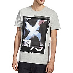 Burton - Grey graphic front print t-shirt