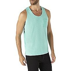 Burton - Mint green printed pocket vest