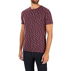 Burton - Purple texture print t-shirt