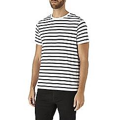 Burton - Navy stripe t-shirt