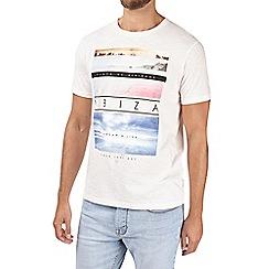 Burton - Pink ibiza print t-shirt