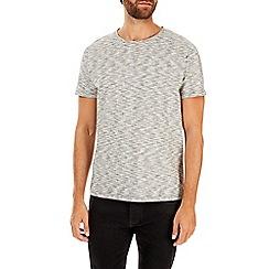 Burton - Grey texture print t-shirt