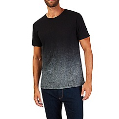 Burton - Black herringbone t-shirt