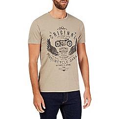 Burton - Stone motorcycle print t-shirt
