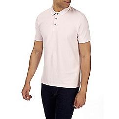 Burton - Pink tipped polo shirt