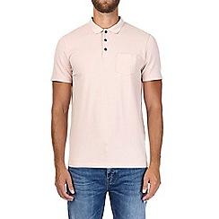 Burton - Pink stretch polo shirt