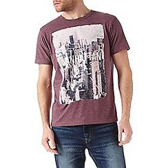 Burton - Burgundy manhattan t-shirt
