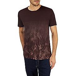 Burton - Purple floral print t-shirt