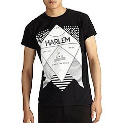 Burton - Black harlem print t-shirt