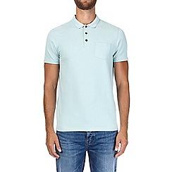Burton - Mint muscle fit polo shirt