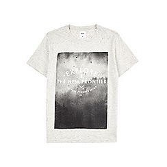 Burton - Ecru graphic t-shirt