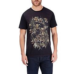 Burton - Black camo print t-shirt