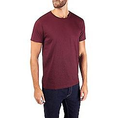 Burton - Burgundy short sleeve t-shirt