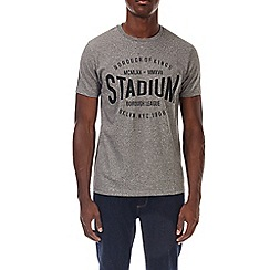 Burton - Grey brooklyn stadium print t-shirt