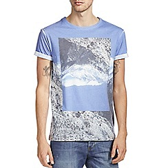 Burton - Blue mountain print t-shirt