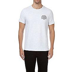 Burton - Frost grey chest graphic t-shirt