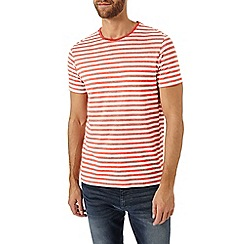 Burton - Red stripe t-shirt