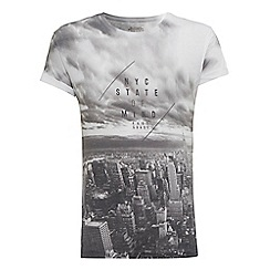Burton - Nyc state of mind printed t-shirt