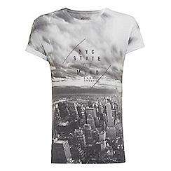 Burton - Nyc state of mind printed t-shirt