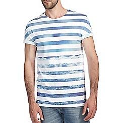 Burton - Blue wave stripe t-shirt