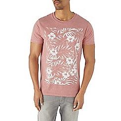 Burton - Pink floral print t-shirt