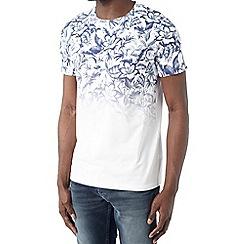 Burton - White floral print t-shirt