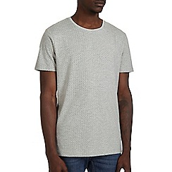 Burton - Grey mini geo print t-shirt