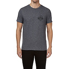 Burton - Navy blue grindle chest graphic t-shirt